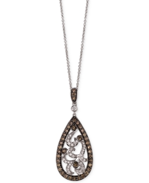 Le Vian Chocolatier? Diamond Paisley Pendant Necklace (9/10 ct. t.w.) in 14k White Gold