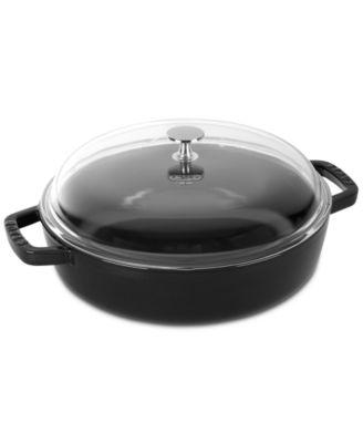 Staub Enameled Cast Iron 4-Qt. Universal Pan
