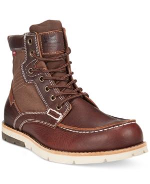 Levi's Dawson Canvas Moc-Toe Boots Men's Shoes