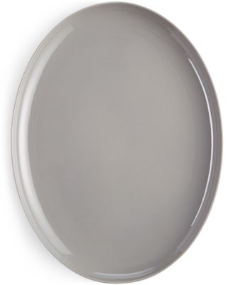 Hotel Collection Modern Stone Serveware Porcelain Oval Platter, Only at Macy's
