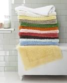 Martha Stewart Collection Solid Cotton Bath Rug