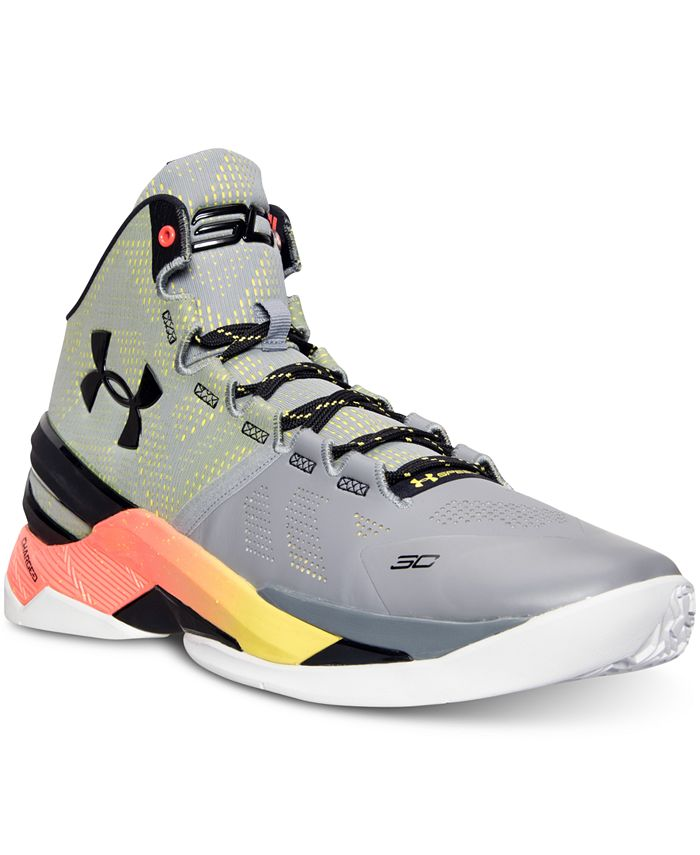 Under Armour - Men's Curry Two Basketball Sneakers from Finish Line