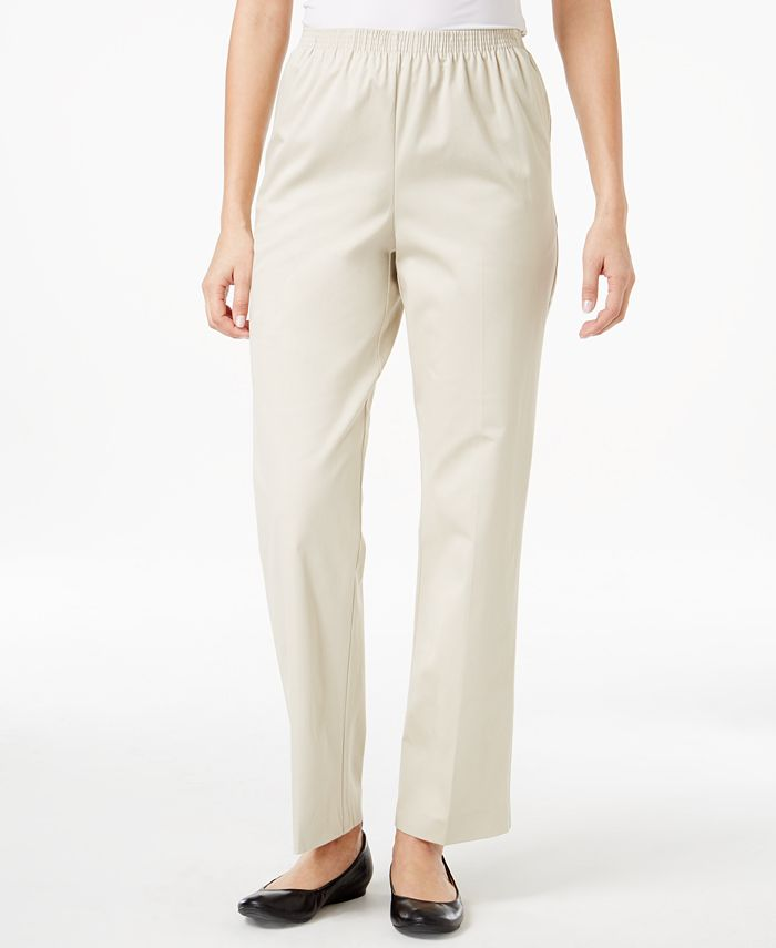 Alfred Dunner - High-Rise Pull-On Pants
