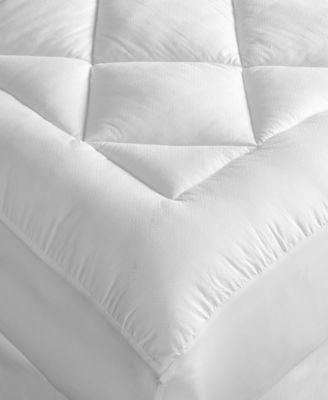 Hotel Collection Finest Queen Pima Cotton Mattress Pad, Only at Macy's