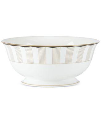 Brian Gluckstein by Lenox Audrey Bone China Serving Bowl