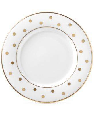 kate spade new york Larabee Road Gold Bone China Saucer