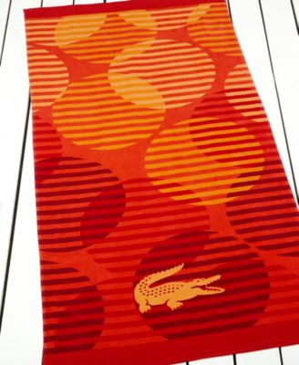 Lacoste Fizzy Beach Towel