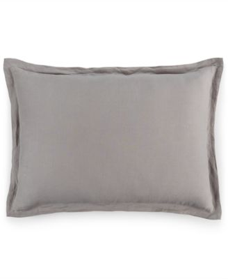 Hotel Collection Linen Fog Standard Sham, Only at Macy's