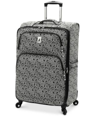 "London Fog Greenwich 24"" Expandable Spinner Suitcase, Only at Macy's"