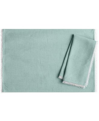 Lenox French Perle Ice Blue Napkin