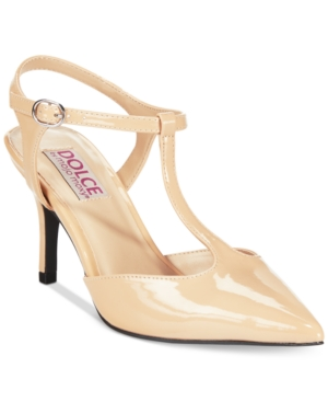 Dolce by Mojo Moxy Constance T-Strap Pumps Womens Shoes $39.99 AT vintagedancer.com