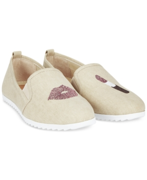 Bar Iii Opal Lipstick Slip-On Shoes, Only at Macy's Women's Shoes