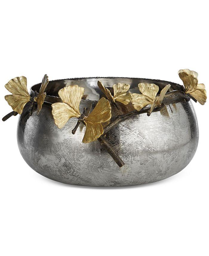 Michael Aram - Stainless Steel Butterfly Ginkgo Bowl