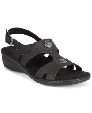 Easy Street Joyce Slingback Wedge Sandals Women's Shoes