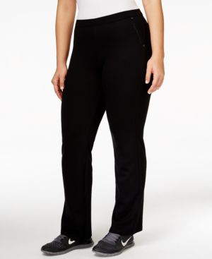 Calvin Klein Plus Size Active Bootcut Pants