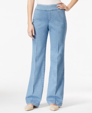 Style & Co. Light Wash Pull-On Trouser Jeans, Only at Macy's