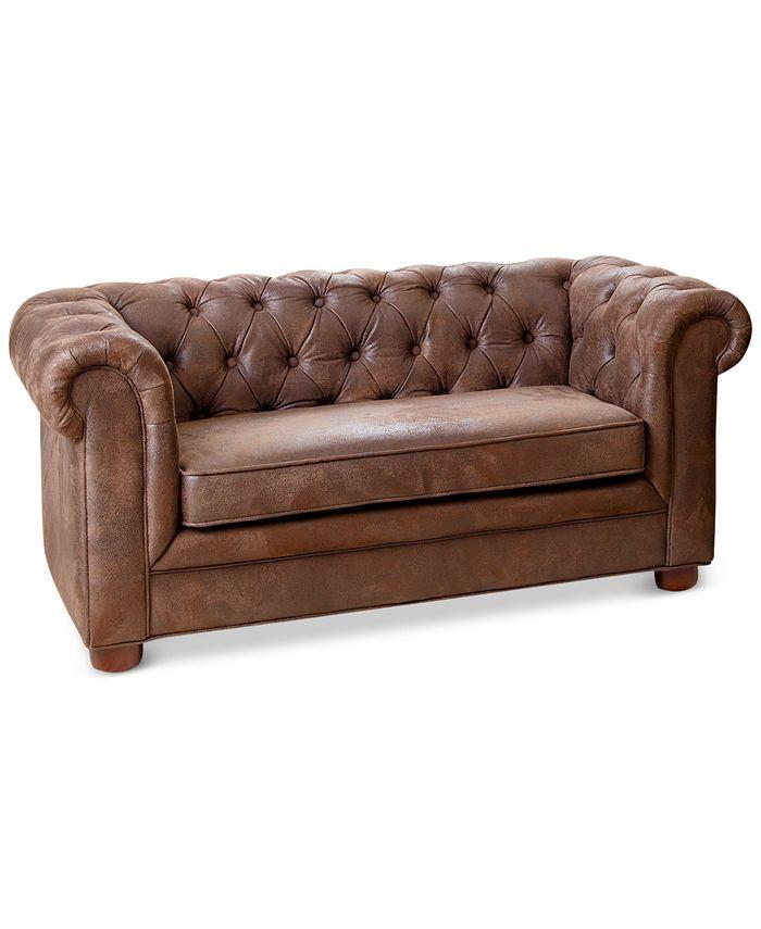 """Abbyson Living - Landin 46"""" Kids Mini Sofa, Quick Ship"""