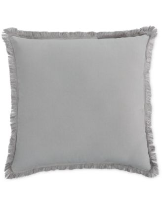 CLOSEOUT! Home Design Studio Fringe Pillow, Only at Macy's