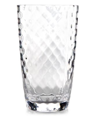Home Design Studio Clear Acrylic Drinkware Collection Highball Glass, Only at Macy's