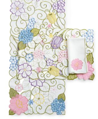 Homewear Pansy Table Linens Collection Placemat