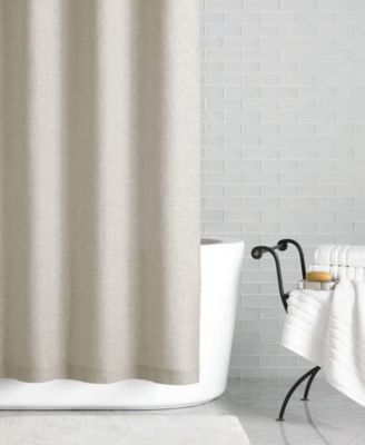 """Hotel Collection Linen 72"""" x 84"""" Extra Long Shower Curtain, Only at Macy's"""