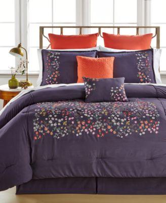 Mila 8-Piece King Comforter Set