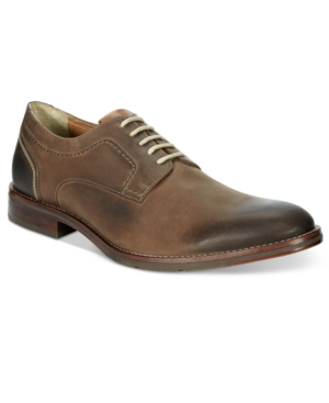 Johnston & Murphy Men's Garner Plain Toe Oxfords Men's Shoes