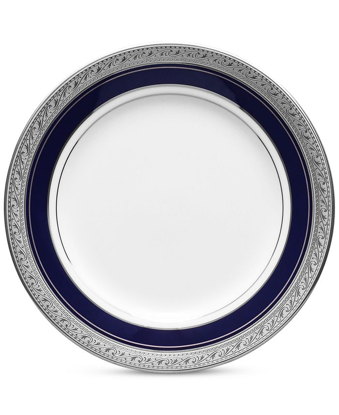 "Noritake - ""Crestwood Cobalt Platinum"" Bread & Butter Plate"