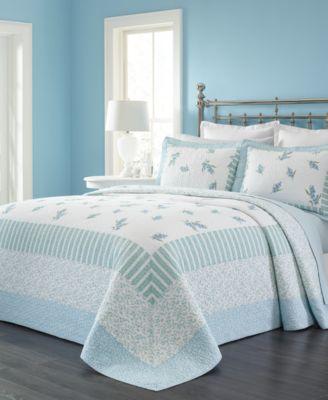 Martha Stewart Collection Bellflower Queen Bedspread