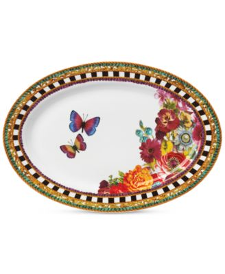 Lenox Melli Mello Eliza Stripe Collection Oval Platter, Exclusively available at Macy's