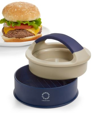 Martha Stewart Collection Burger Press, Only at Macy's