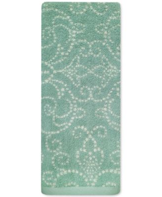 Lenox French Perle Groove Hand Towel