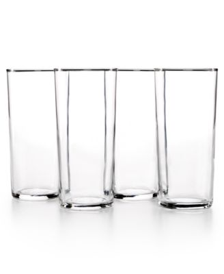 The Cellar Everyday Collection 4-Pc. Rika Highball Glasses Set, Only at Macy's