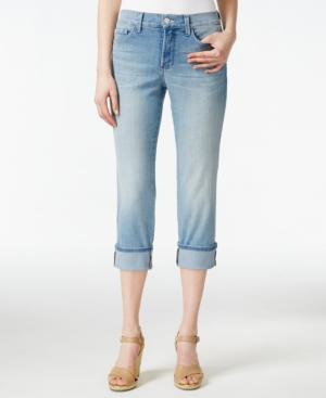Nydj Dayla Manhattan Beach Wash Cropped Jeans