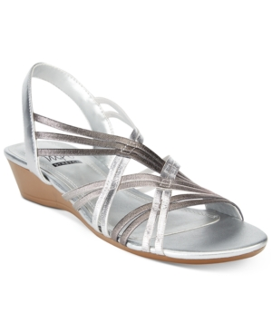 Impo Rampage Stretch Wedge Sandals Women's Shoes