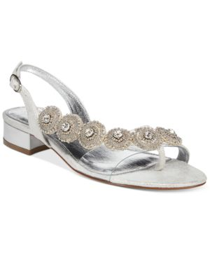 Adrianna Papell Daisy Evening Sandals Women's Shoes thumbnail