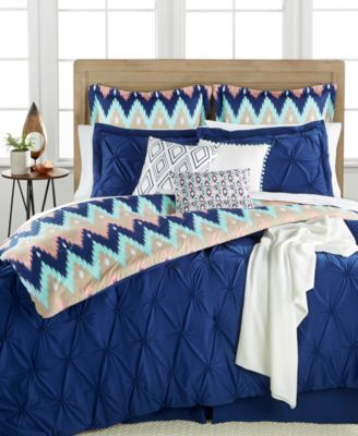 Aztec Stripe 10-Pc. Queen Comforter Set