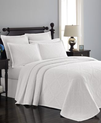 Martha Stewart Collection Castle Matelass® King Bedspread, Only at Macy's