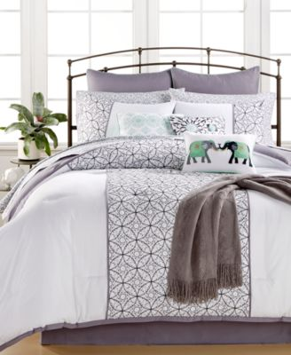 Quintin Cotton 14-Pc. Queen Comforter Set