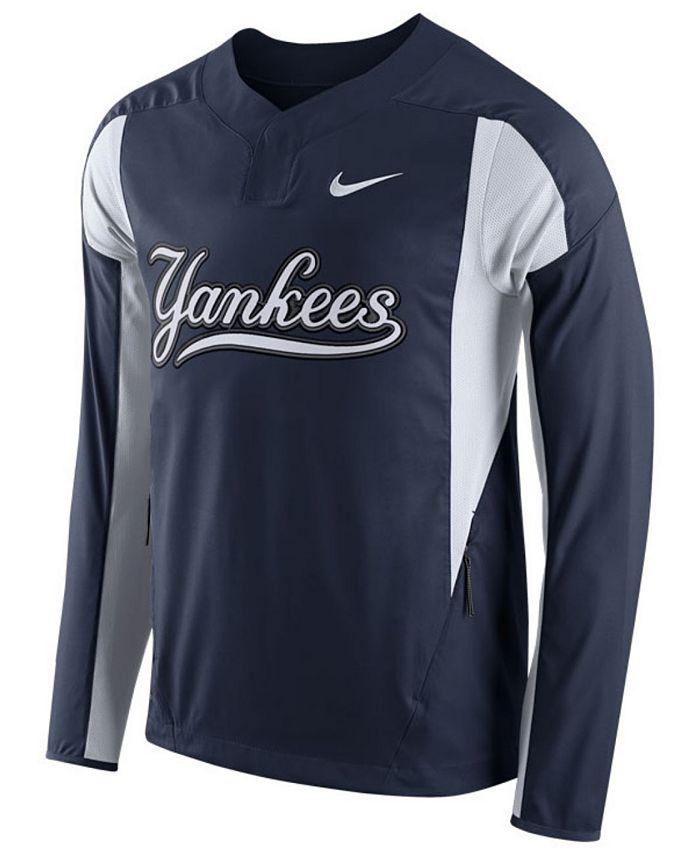 Nike - Men's New York Yankees Long-Sleeve Windshirt