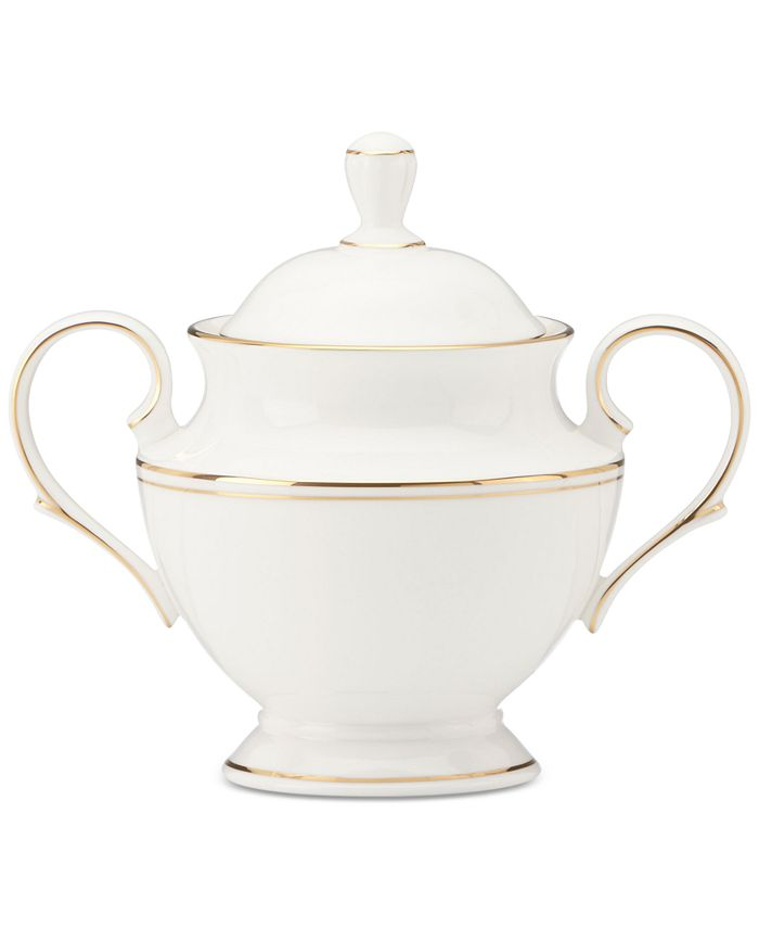 Lenox - Federal Gold Collection 2-Pc. Lidded Sugar Bowl