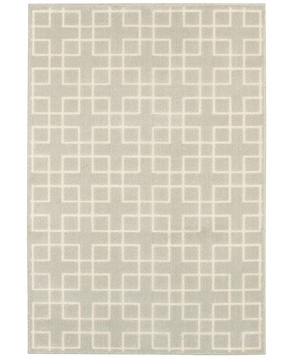 "Oriental Weavers Ellerson Crosswalk 2'3"" x 7'6"" Runner Rug"