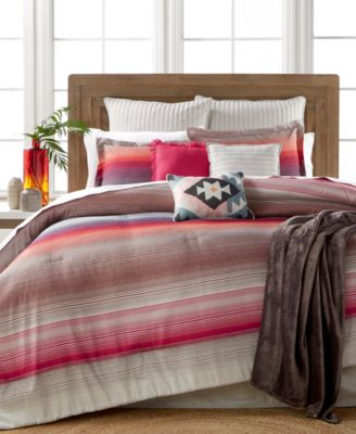 Reeves Sunset Stripe 10-Pc. Queen Comforter Set