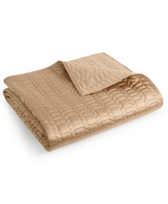 Hotel Collection Onyx King Coverlet, Only at Macy's