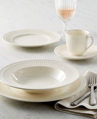 Italian Countryside Graphite 16-Piece Dinnerware Set, Service for 4, Created for Macy's