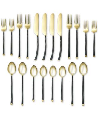 Indira by Cambridge Anya 20-Pc. Flatware Set, Service for 4