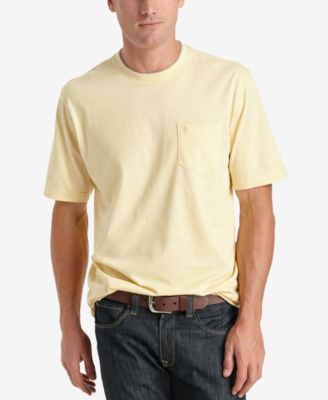 Image of IZOD Solid Double-Layer Jersey Pocket T-Shirt