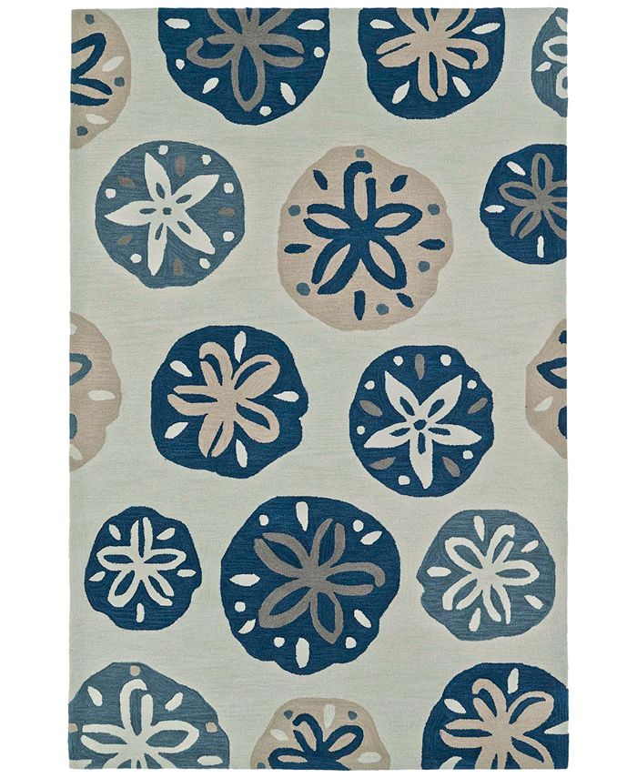 "Macy's Fine Rug Gallery - Seaside SE11 3'6""X5'6"" Area Rug"