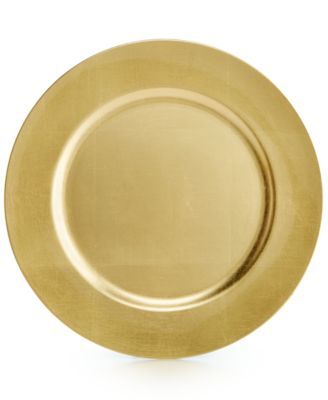 Martha Stewart Collection Harvest Gold Charger, Only at Macy's