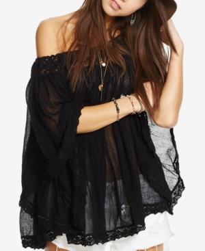 Denim & Supply Ralph Lauren Off-The-Shoulder Gauze Top plus size,  plus size fashion plus size appare
